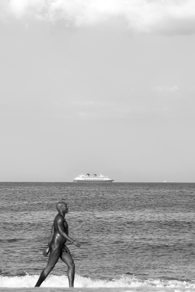 Michael Ast, Mirari, Summer, beach, sand, sun, recreational, naked, nude, ocean, sea, coast, coastal, coastline, naturalists, nudist, nudists, free, freedom, unclothed, bare, heat, vacationing, michaelast, cruise ship
