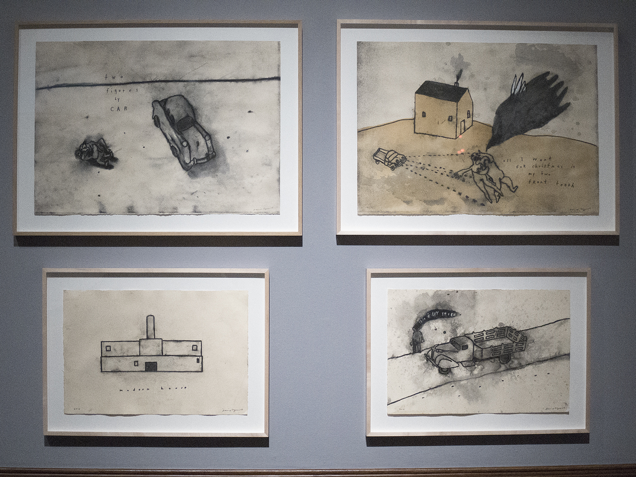 David Lynch, Unified Field, PAFA, artist, mixed media, director, filmmaker, Michael Ast, drawings