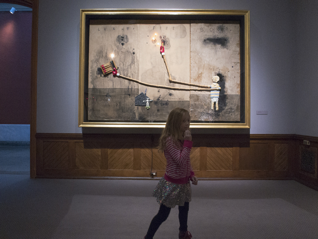 David Lynch, Unified Field, PAFA, artist, mixed media, director, filmmaker, Michael Ast, drawings, make children see art, retrospective, child imagination, Philadelphia Academy of Fine Arts, exhibition