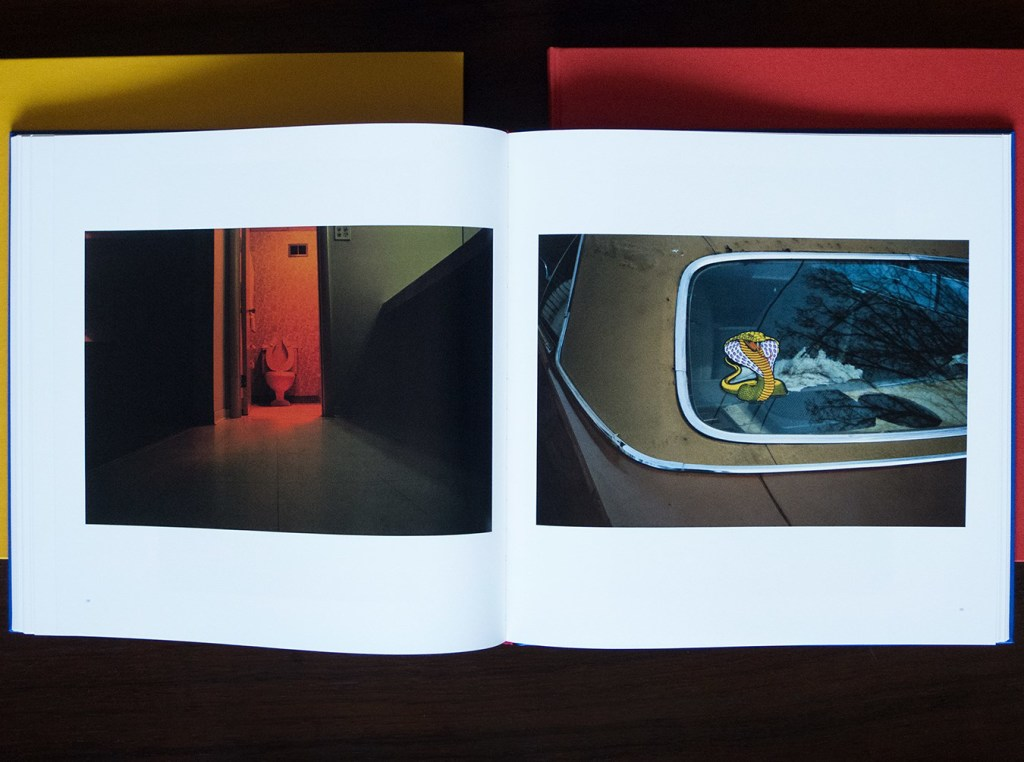 William Eggleston, Steidl, 3-volume set, offset printing, color photography, Michael Ast