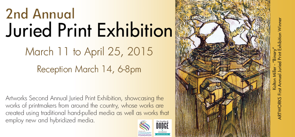 Art Works, printmaking, print exhibition, photopolymer etching, intaglio