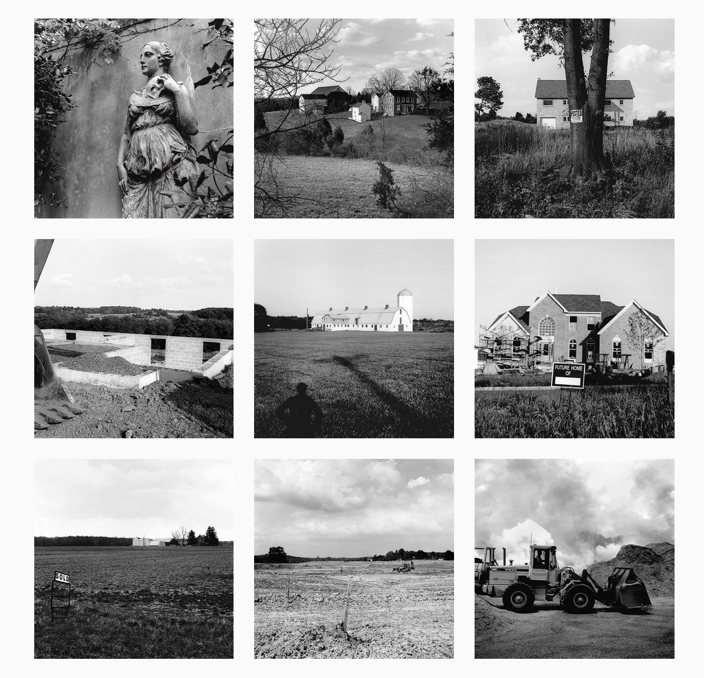 michael Ast, Bucks County, Pennsylvania, suburbia, rural, agriculture, silver gelatin print, prints, Bedminster, Perkasie, Richlandtown, Buckingham, Forest Grove