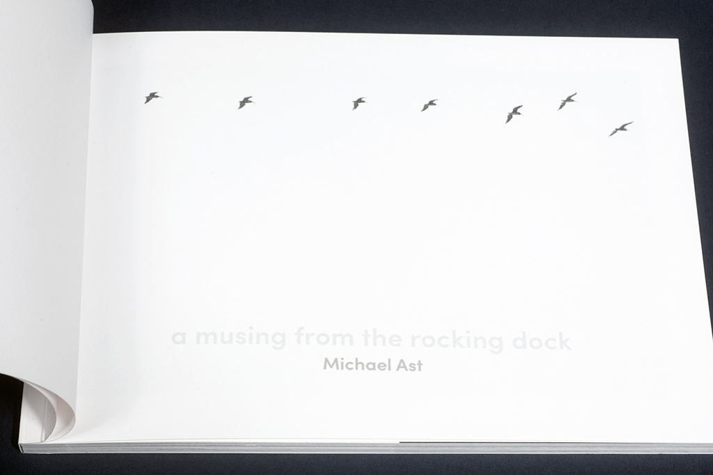 Michael Ast, a musing from the rocking dock, the unknown books, photobook