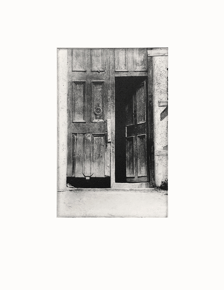 Vedado, Havana, Michael Ast, photo etching, intaglio, artist proof, analog photography, Cuba, printmaking, bw photography, Hahnemuhle, charbonnel
