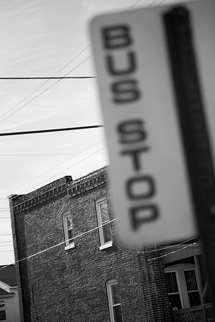 Michael Ast, trying to find the ocean, photobook, Baltimore, bus stop, self-publishing, self publishing