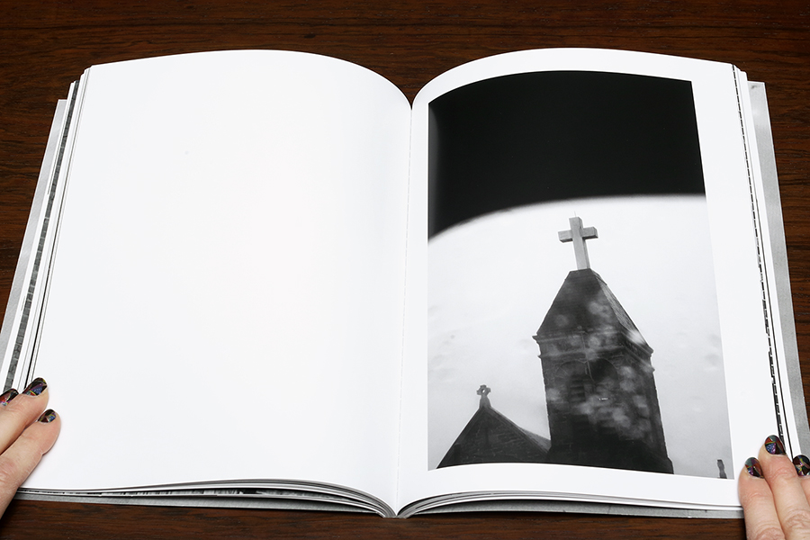 Michael Ast. michaelast, Trying to Find the Ocean, photobook, Mark Alice Durant, Baltimore, MD, self-published, steeple, church, cross
